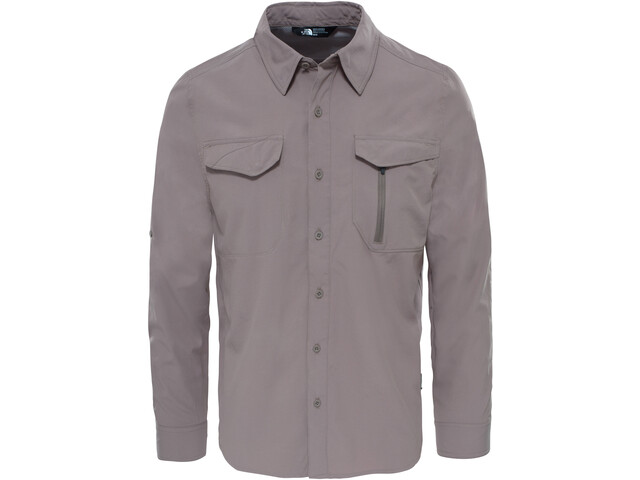 The North Face M's Sequoia L/S Shirt Falcon Brown